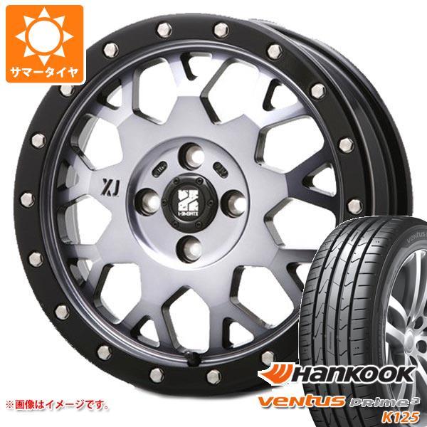 サマータイヤ 165/55R14 72V ハンコック ベンタス プライム3 K125 エクストリームJ XJ04 GS 軽カー専用 4.5-14 タイヤホイール4本セット