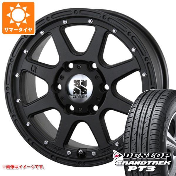 サマータイヤ 265/70R16 112H ダンロップ グラントレック PT3 エクストリームJ 7.0-16 タイヤホイール4本セット