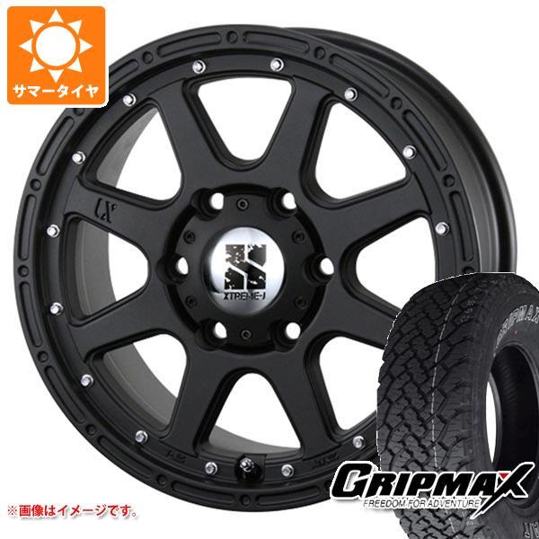 サマータイヤ 215/70R16 100T グリップマックス グリップマックス A/T アウトラインホワイトレター エクストリームJ 7.0-16 タイヤホイール4本セット