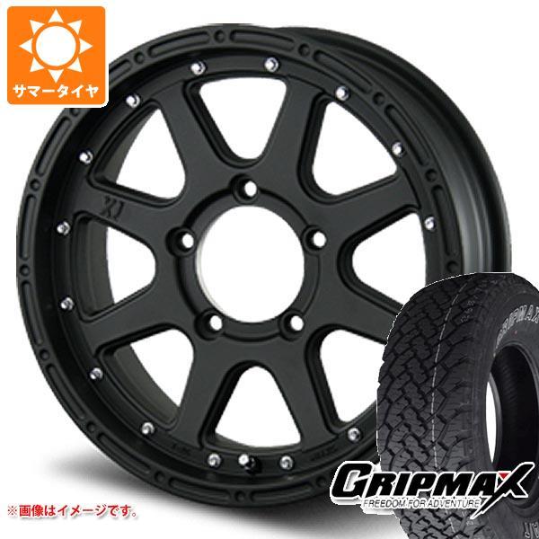 ジムニー専用 サマータイヤ グリップマックス グリップマックス A/T 215/70R16 100T アウトラインホワイトレター エクストリームJ 5.5-16 タイヤホイール4本セット