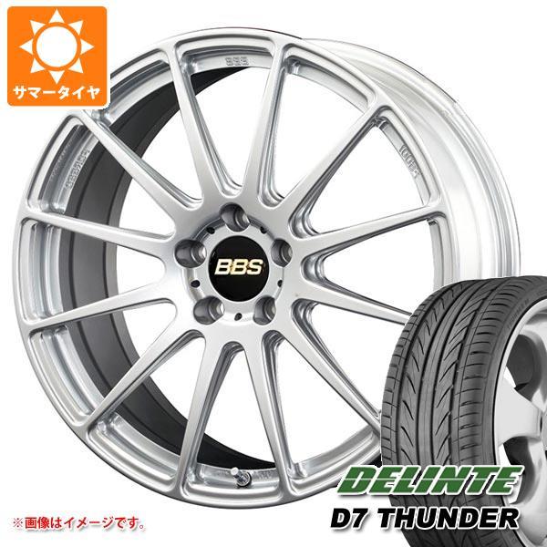 サマータイヤ 245/35R19 97W XL デリンテ D7 サンダー BBS FS 8.0-19 タイヤホイール4本セット
