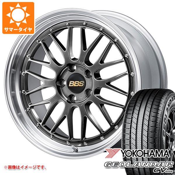 サマータイヤ 225/65R17 102H ヨコハマ ジオランダー CV BBS LM 7.5-17 タイヤホイール4本セット