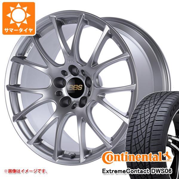 サマータイヤ 245/45R18 100Y XL コンチネンタル エクストリームコンタクト DWS06 BBS RE-V 8.0-18 タイヤホイール4本セット