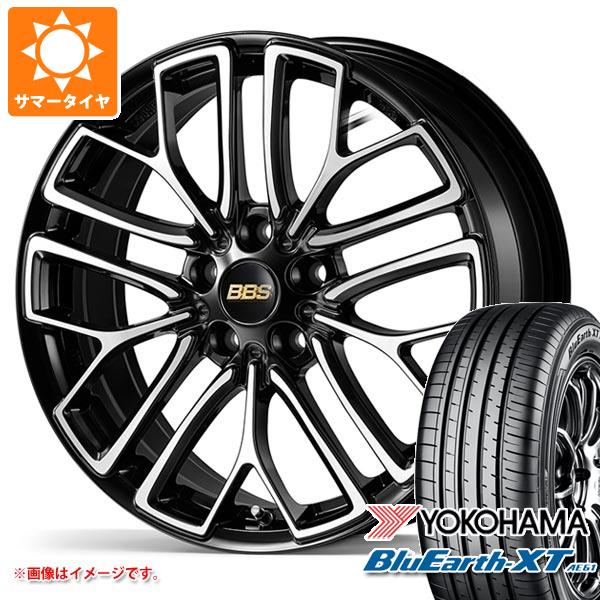 サマータイヤ 235/55R18 100V ヨコハマ ブルーアースXT AE61 BBS RE-X 7.5-18 タイヤホイール4本セット