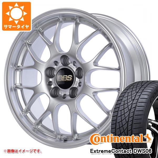 正規品 サマータイヤ 245/45R19 98Y コンチネンタル エクストリームコンタクト DWS06 BBS RG-R 8.5-19 タイヤホイール4本セット