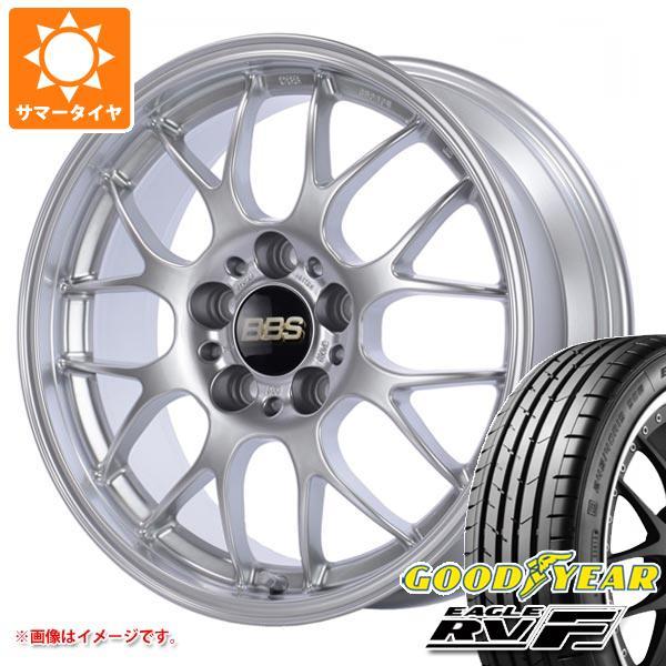 サマータイヤ 225/50R18 99V XL グッドイヤー イーグル RV-F BBS RG-R 7.5-18 タイヤホイール4本セット