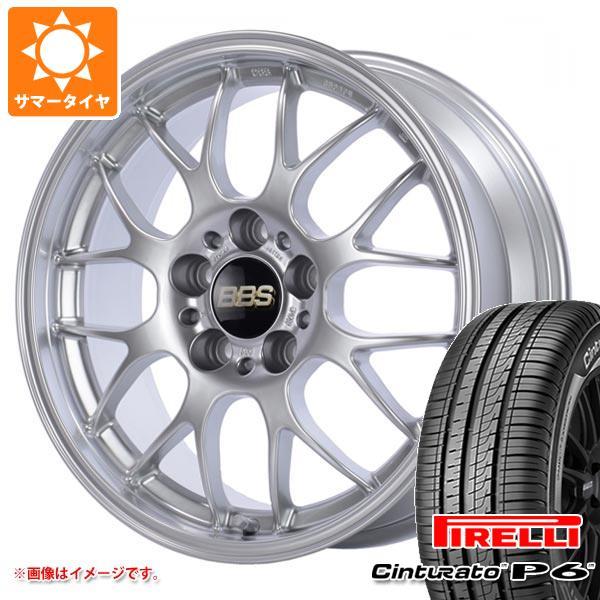 正規品 サマータイヤ 215/50R17 95V XL ピレリ チントゥラート P6 BBS RG-R 7.0-17 タイヤホイール4本セット