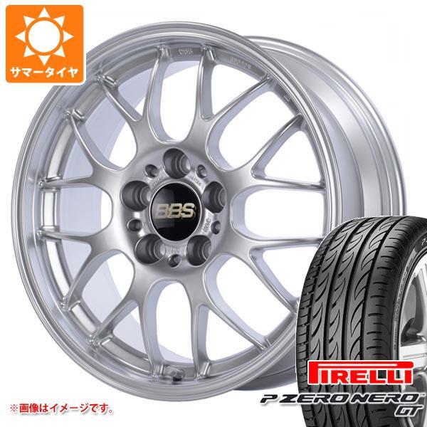 サマータイヤ 245/40R19 (98Y) XL ピレリ P ゼロ ネロ GT BBS RG-R 8.5-19 タイヤホイール4本セット