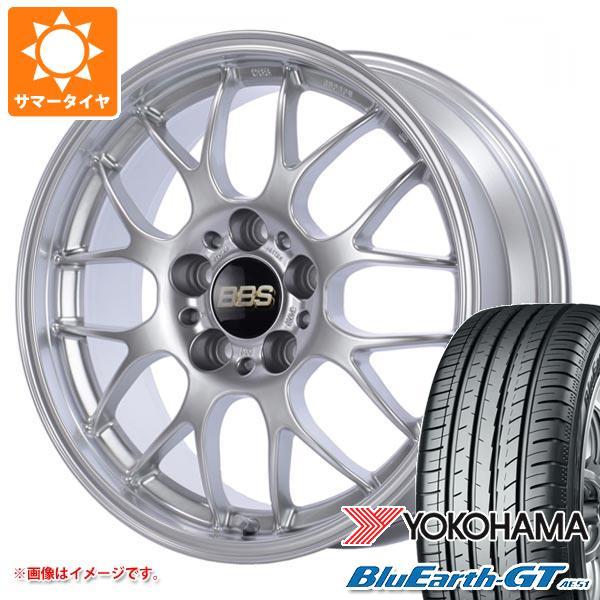 サマータイヤ 225/45R19 96W XL ヨコハマ ブルーアースGT AE51 BBS RG-R 8.5-19 タイヤホイール4本セット