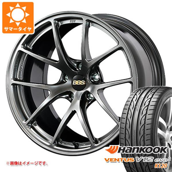 サマータイヤ 225/45R18 95Y XL ハンコック ベンタス V12evo2 K120 BBS RI-A 8.0-18 タイヤホイール4本セット