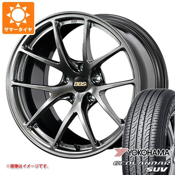 サマータイヤ 215/55R18 99V XL ヨコハマ ジオランダーSUV G055 BBS RI-A 7.5-18 タイヤホイール4本セット