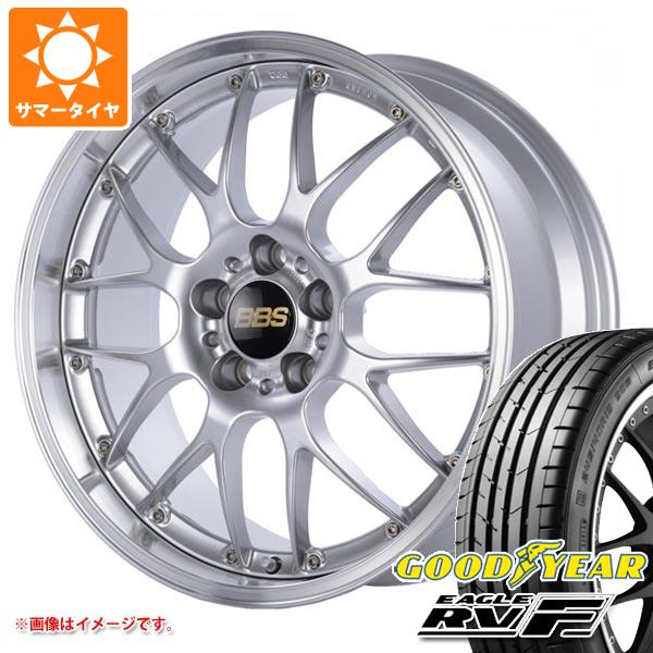 サマータイヤ 225/55R18 102V XL グッドイヤー イーグル RV-F BBS RS-GT 7.5-18 タイヤホイール4本セット