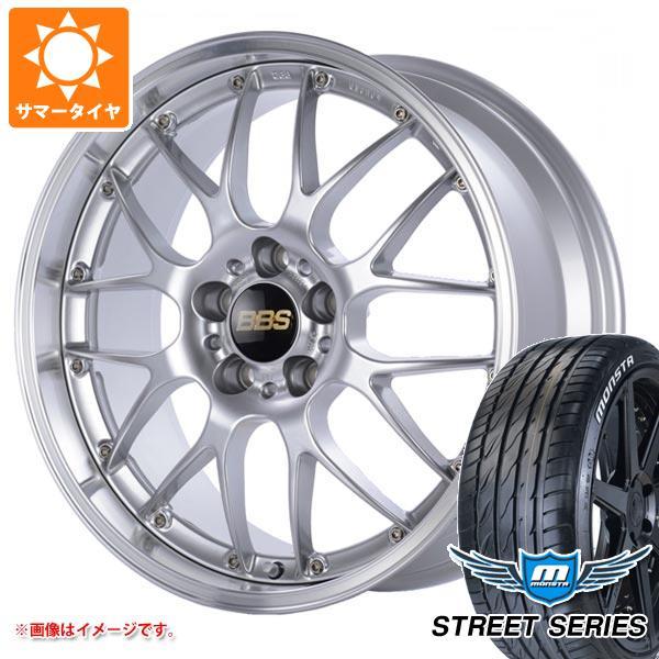 サマータイヤ 245/35R19 93V XL モンスタ ストリートシリーズ ホワイトレター BBS RS-GT 8.5-19 タイヤホイール4本セット