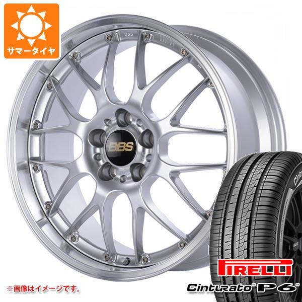 正規品 サマータイヤ 215/50R17 95V XL ピレリ チントゥラート P6 BBS RS-GT 7.0-17 タイヤホイール4本セット