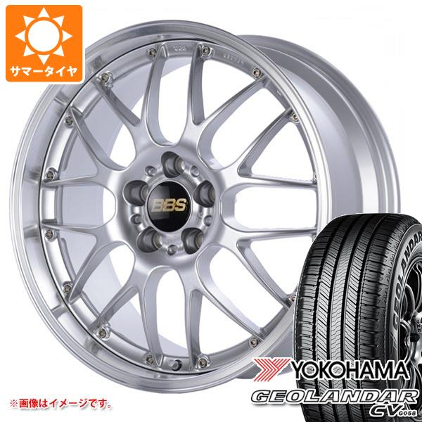 サマータイヤ 225/65R17 102H ヨコハマ ジオランダー CV BBS RS-GT 7.0-17 タイヤホイール4本セット