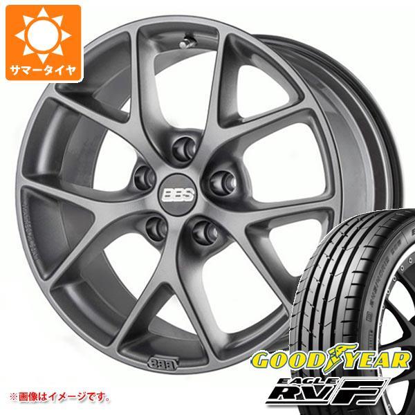 メルセデスベンツ W215 CL用 サマータイヤ グッドイヤー イーグル RV-F 225/55R17 101V XL BBS SR タイヤホイール4本セット