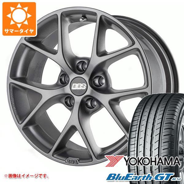 アウディ A4 8W系用 サマータイヤ ヨコハマ ブルーアースGT AE51 225/50R17 98W XL BBS SR タイヤホイール4本セット