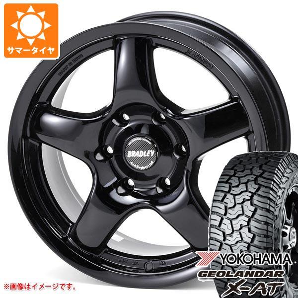 サマータイヤ 265/65R17 120/117Q ヨコハマ ジオランダー X-AT G016 ブラッドレー パイ 8.0-17 タイヤホイール4本セット