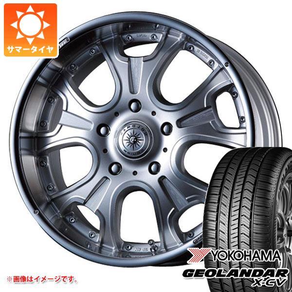 サマータイヤ 265/50R20 111W XL ヨコハマ ジオランダー X-CV G057 クリムソン ヘラクレス モノブロック F/A 8.5-20 タイヤホイール4本セット
