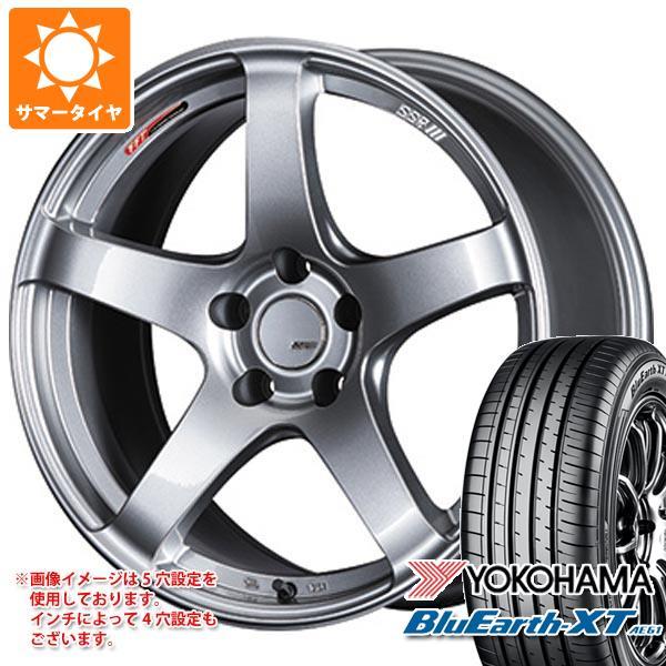 サマータイヤ 225/55R19 99V ヨコハマ ブルーアースXT AE61 2020年4月発売サイズ SSR GTV01 8.5-19 タイヤホイール4本セット