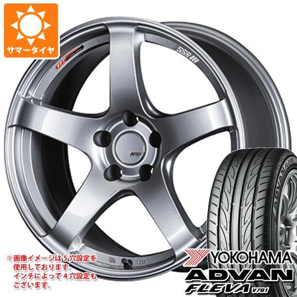 サマータイヤ 245/40R19 98W XL ヨコハマ アドバン フレバ V701 SSR GTV01 8.5-19 タイヤホイール4本セット