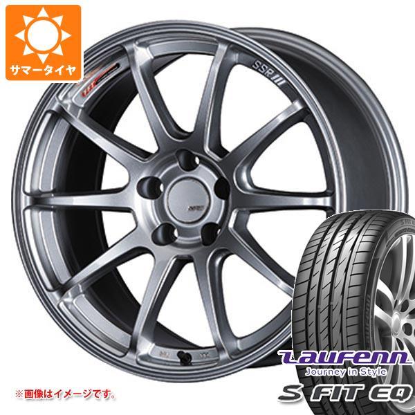 サマータイヤ 205/40R17 84W XL ラウフェン Sフィット EQ LK01 SSR GTV02 7.0-17 タイヤホイール4本セット