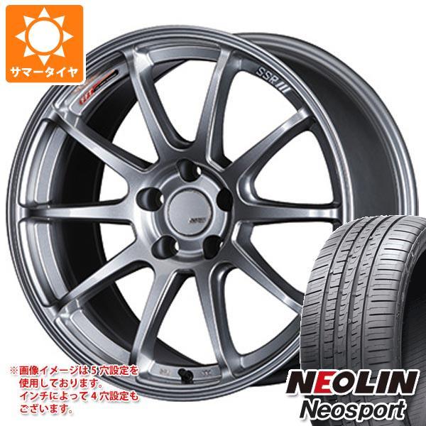 サマータイヤ 225/45R18 95W XL ネオリン ネオスポーツ SSR GTV02 7.5-18 タイヤホイール4本セット