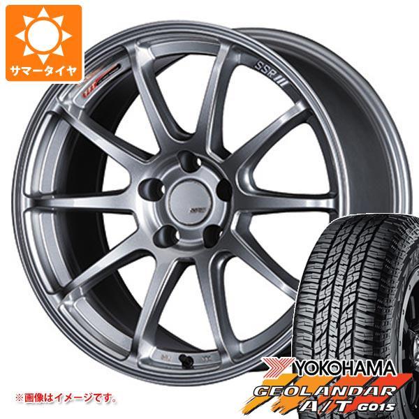 サマータイヤ 235/55R18 104H XL ヨコハマ ジオランダー A/T G015 ブラックレター SSR GTV02 7.5-18 タイヤホイール4本セット