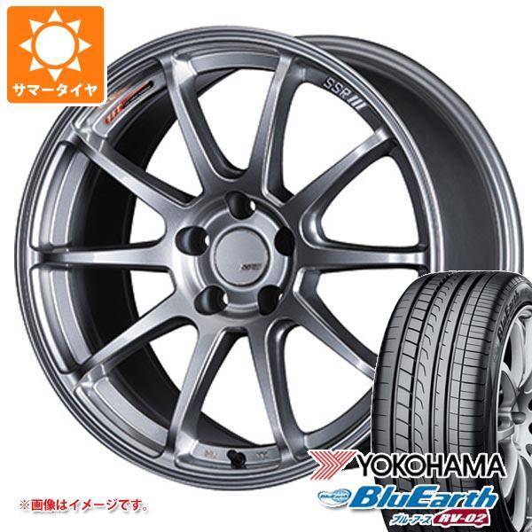 人気定番 サマータイヤ 225/55R17 97W ヨコハマ ブルーアース RV-02 SSR GTV02 7.0-17 タイヤホイール4本セット, 本物保証!  232f00de
