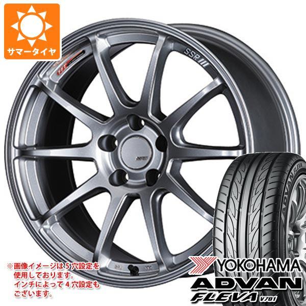 サマータイヤ 245/40R19 98W XL ヨコハマ アドバン フレバ V701 SSR GTV02 8.5-19 タイヤホイール4本セット