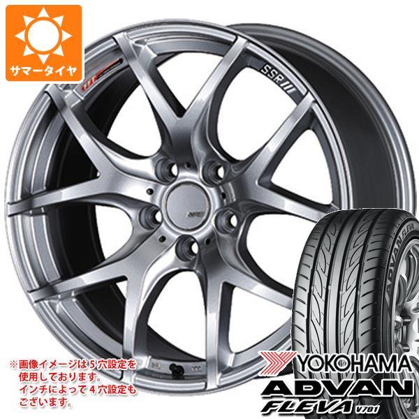 サマータイヤ 245/40R19 98W XL ヨコハマ アドバン フレバ V701 SSR GTV03 8.5-19 タイヤホイール4本セット