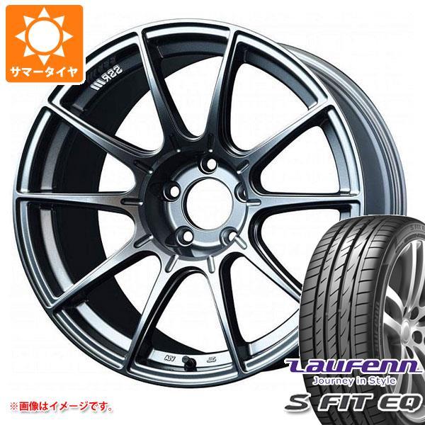 サマータイヤ 205/40R17 84W XL ラウフェン Sフィット EQ LK01 SSR GTX01 7.0-17 タイヤホイール4本セット
