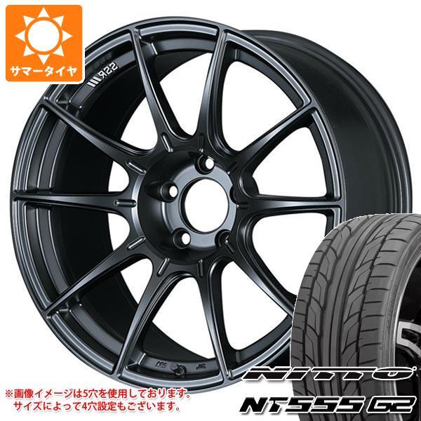 サマータイヤ 215/35R18 84W XL ニットー NT555 G2 SSR GTX01 7.5-18 タイヤホイール4本セット
