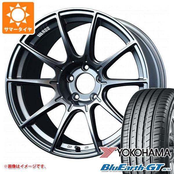 サマータイヤ 165/55R15 75V ヨコハマ ブルーアースGT AE51 SSR GTX01 5.0-15 タイヤホイール4本セット