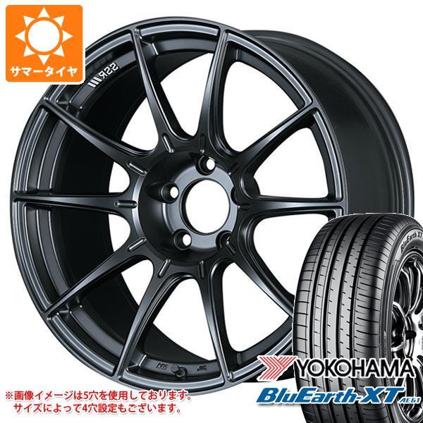 サマータイヤ 225/55R19 99V ヨコハマ ブルーアースXT AE61 2020年4月発売サイズ SSR GTX01 8.5-19 タイヤホイール4本セット