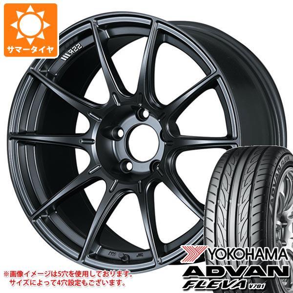 サマータイヤ 235/50R18 97V ヨコハマ アドバン フレバ V701 SSR GTX01 8.0-18 タイヤホイール4本セット