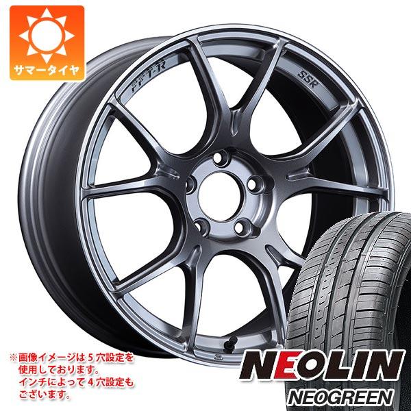 サマータイヤ 165/45R16 71V XL ネオリン ネオグリーン SSR GTX02 5.0-16 タイヤホイール4本セット