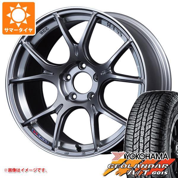 サマータイヤ 235/55R18 104H XL ヨコハマ ジオランダー A/T G015 ブラックレター SSR GTX02 7.5-18 タイヤホイール4本セット