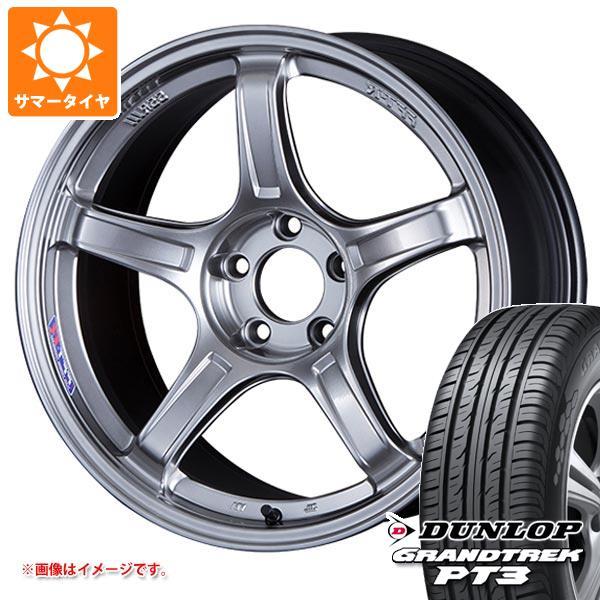 サマータイヤ 225/55R19 99V ダンロップ グラントレック PT3 SSR GTX03 8.5-19 タイヤホイール4本セット