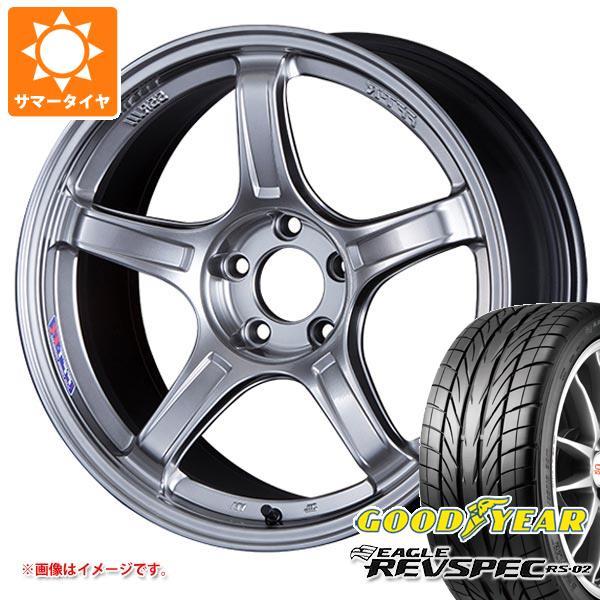 サマータイヤ 225/45R18 91W グッドイヤー イーグル レヴスペック RS-02 SSR GTX03 7.5-18 タイヤホイール4本セット
