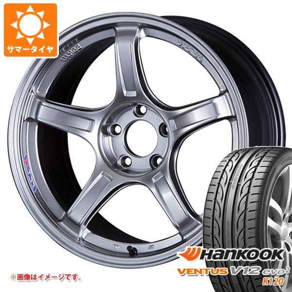 サマータイヤ 215/45R17 91Y XL ハンコック ベンタス V12evo2 K120 SSR GTX03 7.0-17 タイヤホイール4本セット
