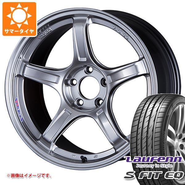 サマータイヤ 225/40R18 92Y XL ラウフェン Sフィット EQ LK01 SSR GTX03 7.5-18 タイヤホイール4本セット