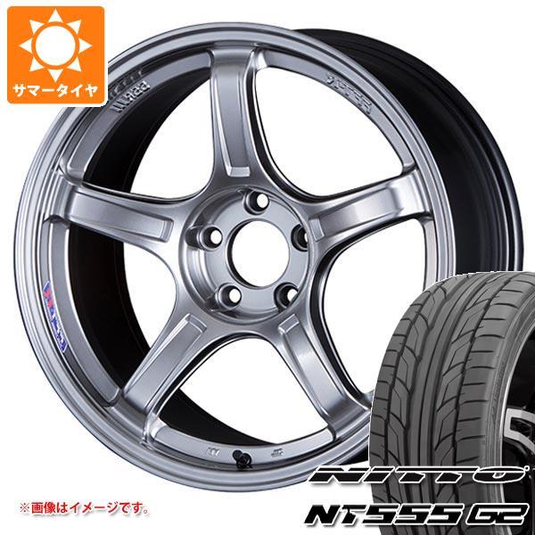 お気に入りの サマータイヤ 245/45R18 100Y XL ニットー NT555 G2 SSR GTX03 8.5-18 タイヤホイール4本セット, ヒーローボックス cbb4e31b
