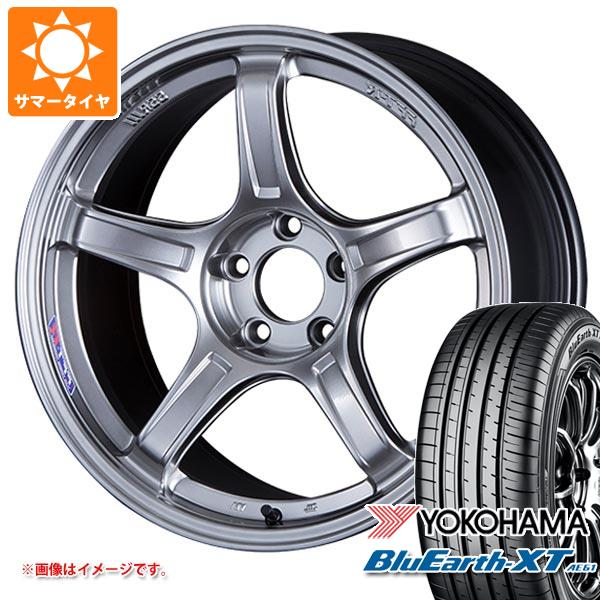 サマータイヤ 225/55R19 99V ヨコハマ ブルーアースXT AE61 2020年4月発売サイズ SSR GTX03 8.5-19 タイヤホイール4本セット