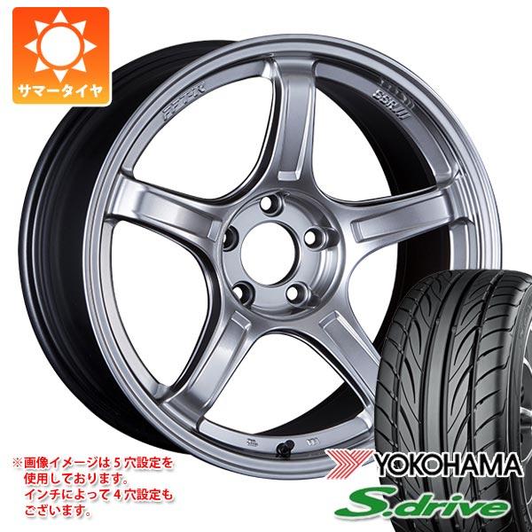 サマータイヤ 165/45R16 74V REINF ヨコハマ DNA S.ドライブ ES03N SSR GTX03 5.5-16 タイヤホイール4本セット