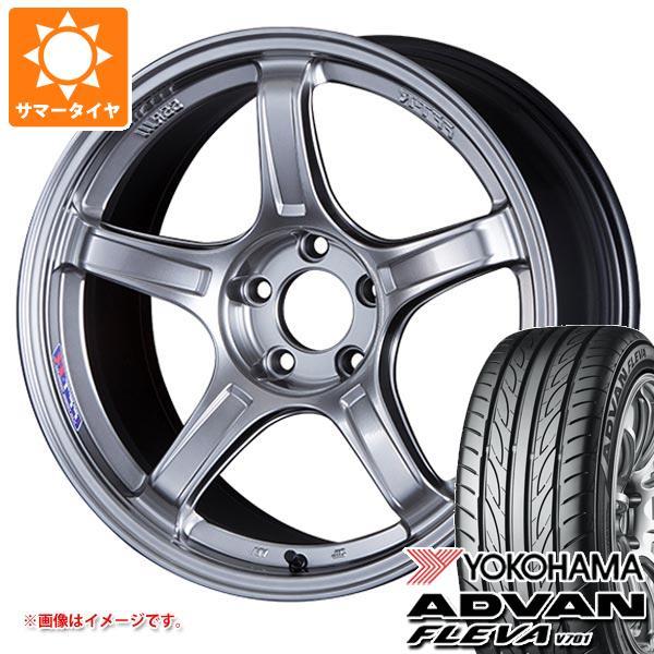 サマータイヤ 165/55R15 75V ヨコハマ アドバン フレバ V701 SSR GTX03 5.0-15 タイヤホイール4本セット