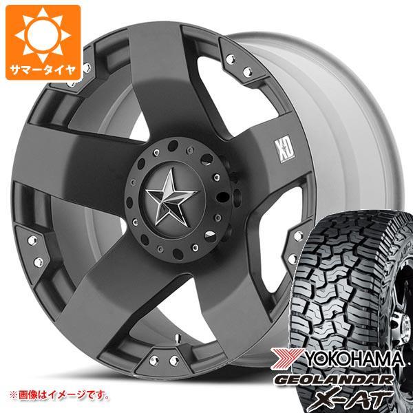 サマータイヤ 265/65R17 120/117Q ヨコハマ ジオランダー X-AT G016 KMC XD775 ロックスター 8.0-17 タイヤホイール4本セット