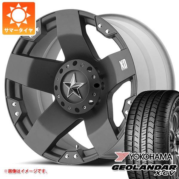 サマータイヤ 265/50R20 111W XL ヨコハマ ジオランダー X-CV G057 KMC XD775 ロックスター 8.5-20 タイヤホイール4本セット