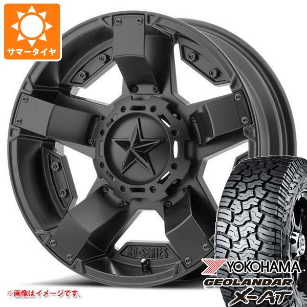 サマータイヤ 265/65R17 120/117Q ヨコハマ ジオランダー X-AT G016 KMC XD811 ロックスター2 8.0-17 タイヤホイール4本セット