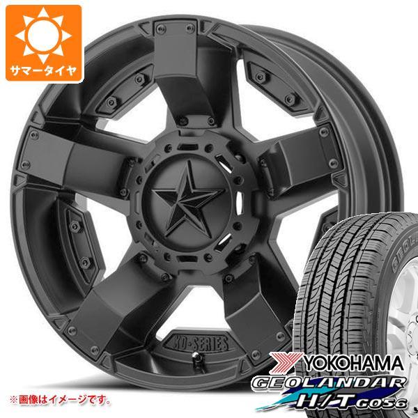 日本に サマータイヤ 285/50R20 112V ヨコハマ ジオランダー H/T G056 KMC XD811 ロックスター2 8.5-20 タイヤホイール4本セット, 靴磨き専門店シューズマスター 5d1e1229
